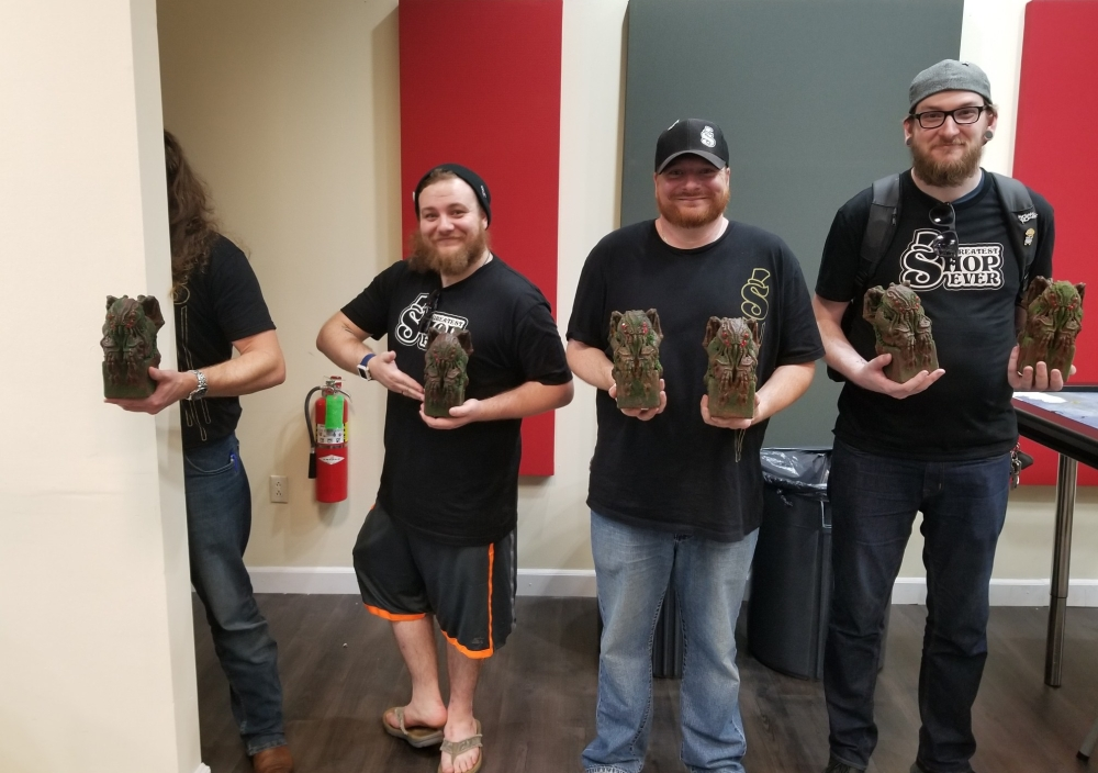 Dungeon Crawl for the Cure Winners